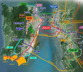 Penang transport masterplan proposal