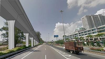 Bayan Lepas LRT Tun Dr Lim Chong Eu Expressway
