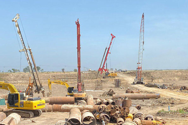 New Phnom Penh Airport Construction