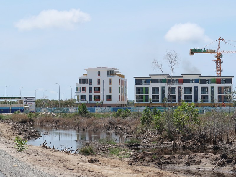 Meyhomes Capital construction site