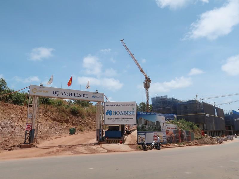 Hillside project