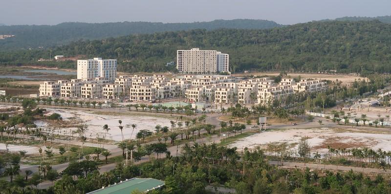 Palm Garden view from InterContinental