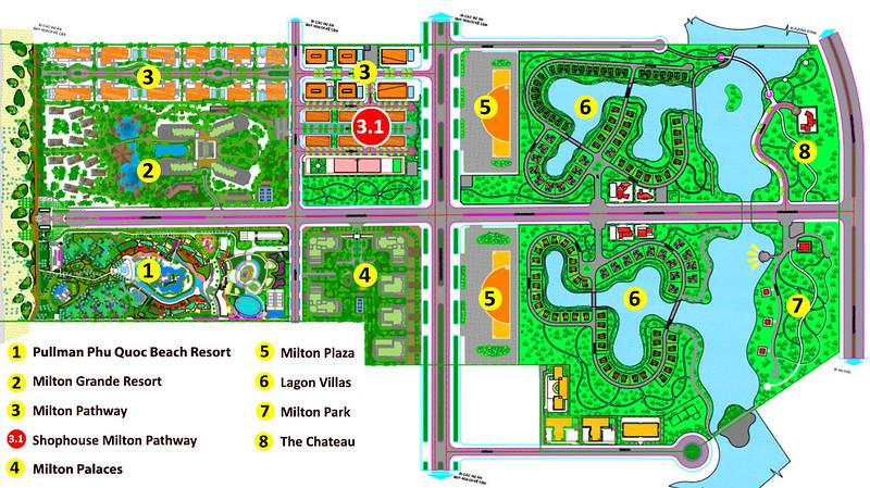Map of Milton Pathway