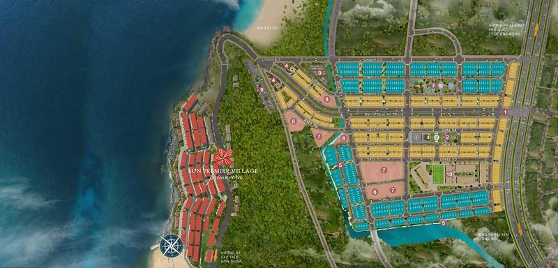Sun Grand City New An Thoi Map