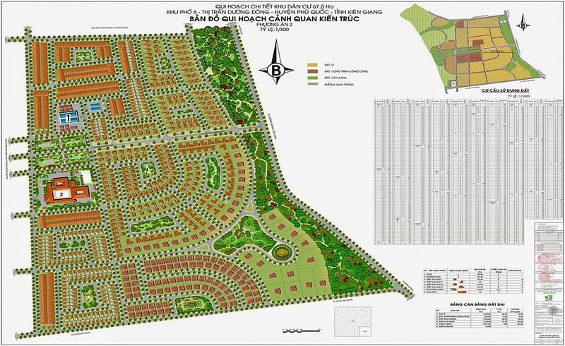 North Duong Dong Street Plan
