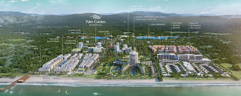Palm Garden Map
