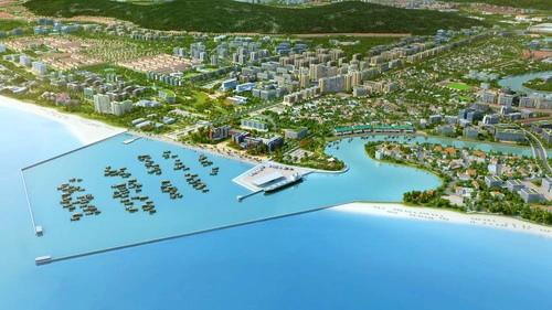 Urban zoning plan of Duong Dong