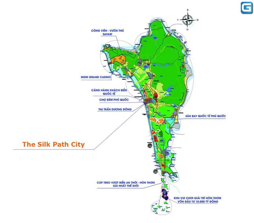 The Silk Path City Map