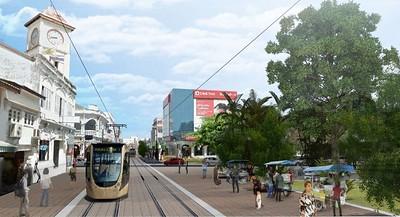 Lightrail Phuket Town