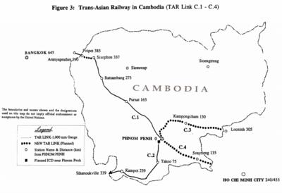 Trans-Asian Railway in Cambodia