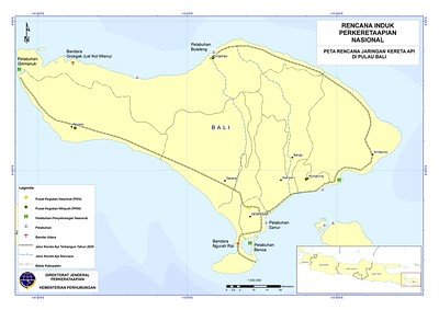 Bali Railway Map