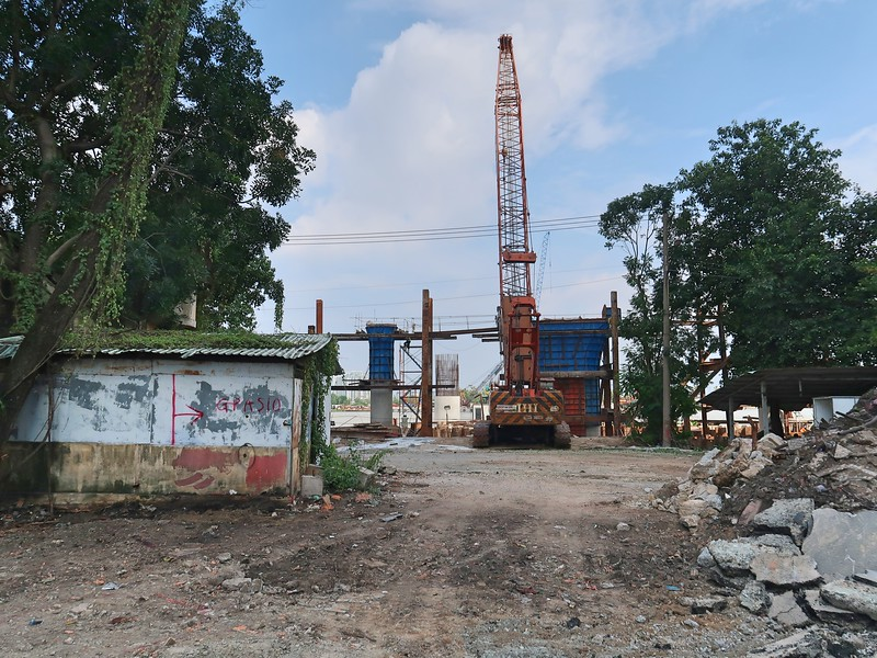 Pillar construction at Bason