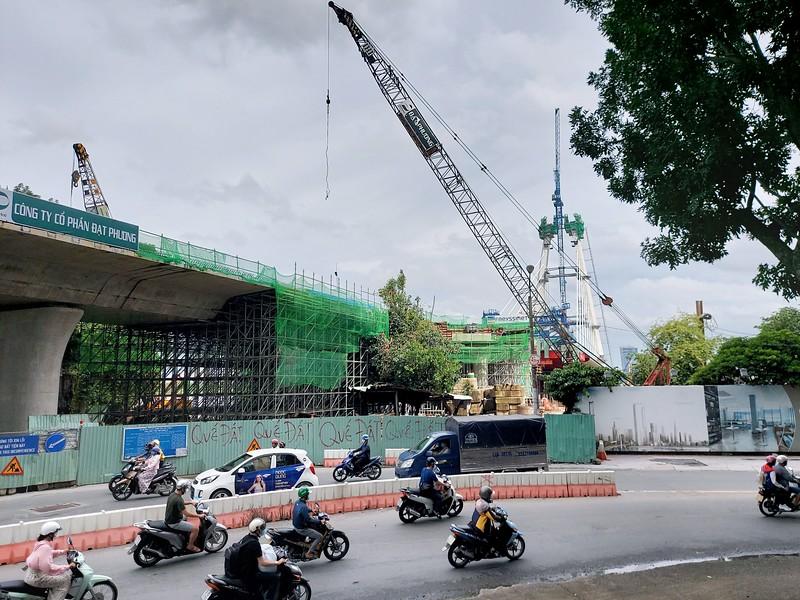 Thu Thiem 2 Bridge 17 Oct 2020