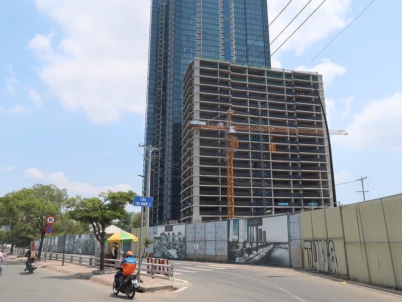 The Centennial crane removal