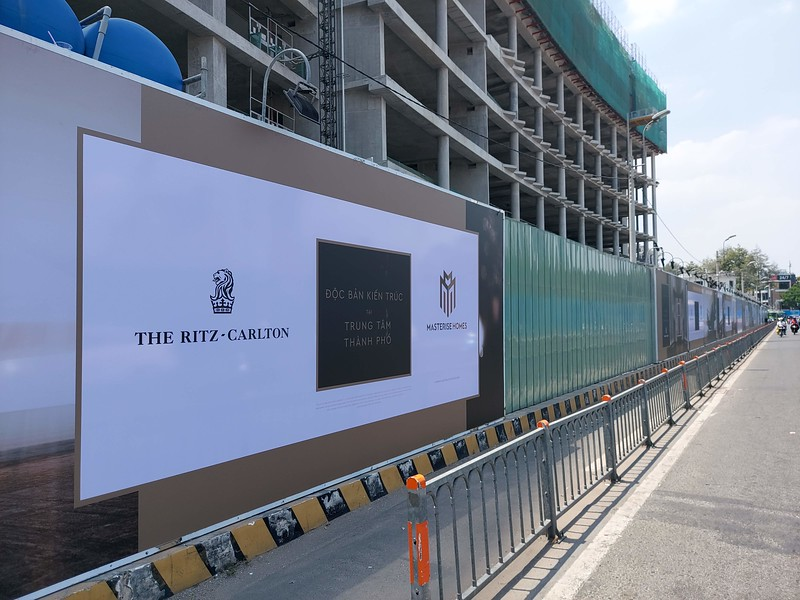 Ritz-Carlton and Masterise Homes sign