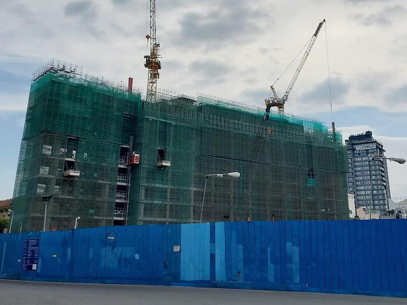 Spirit of Saigon construction 12 January 2021