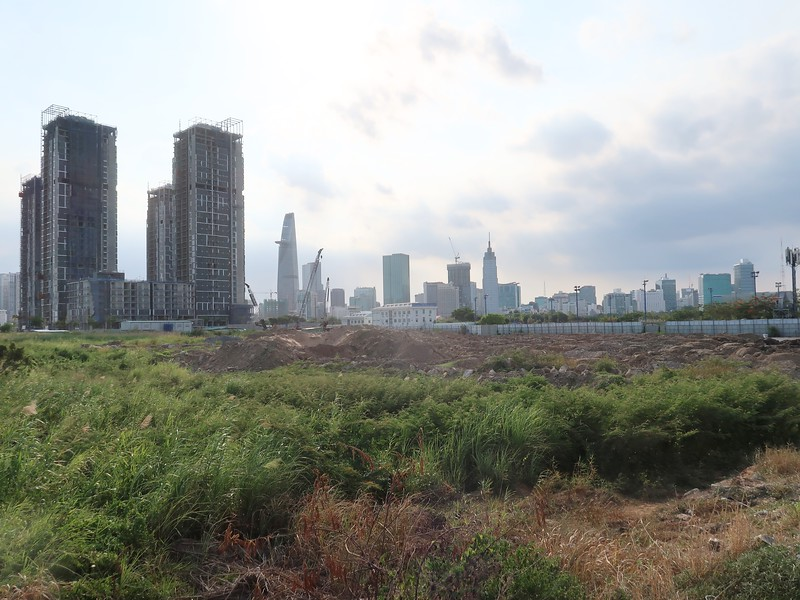 Empire City main tower site