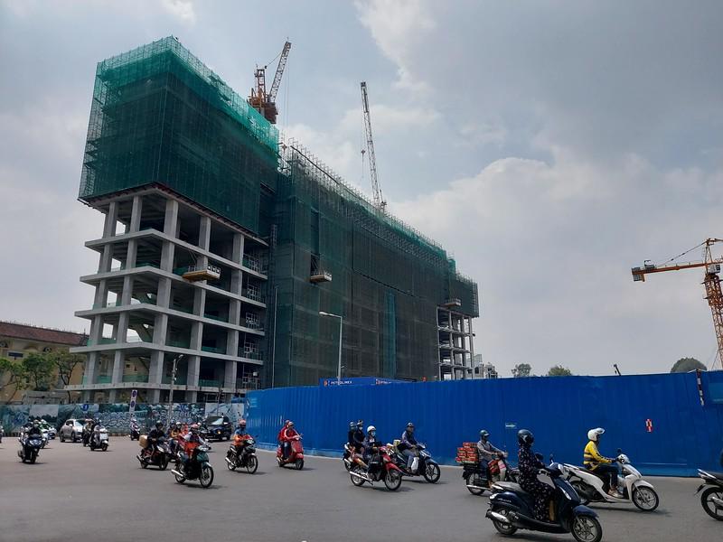 Spirit of Saigon construction 28 January 2021