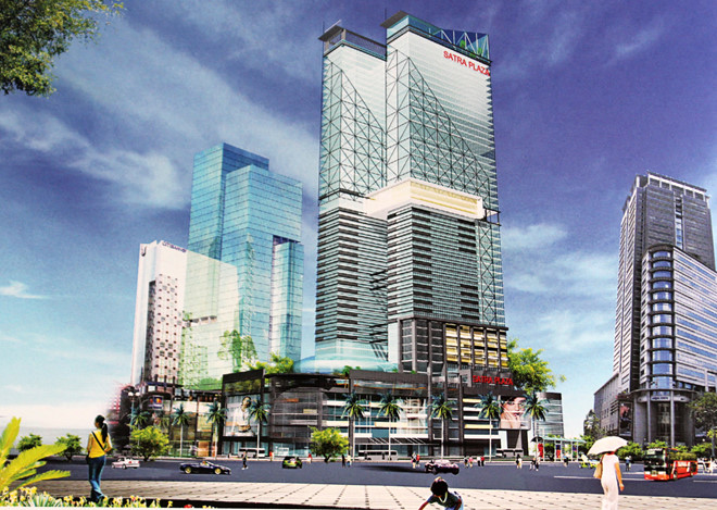 Satra Plaza Twin Towers (2016)