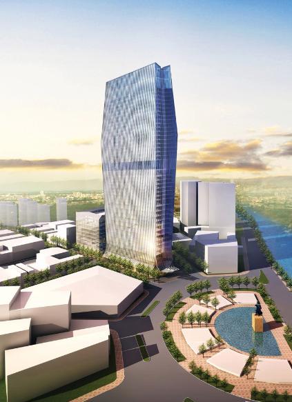 Me Linh Tower / Sabeco (2010)