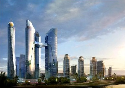 Thu Thiem Tower (Lotte proposal 2008)