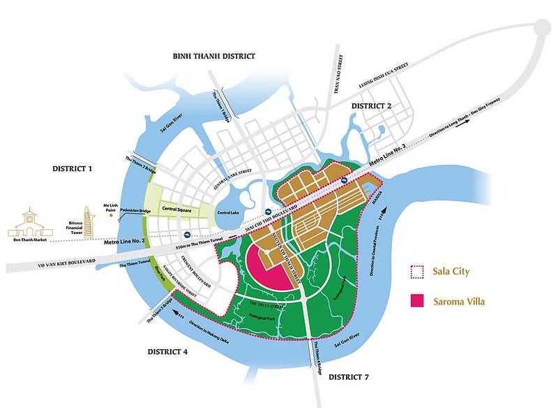Sala City Map