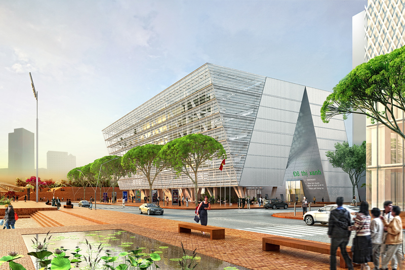 City Planning Exhibition Center – HCMC (Vietnam)