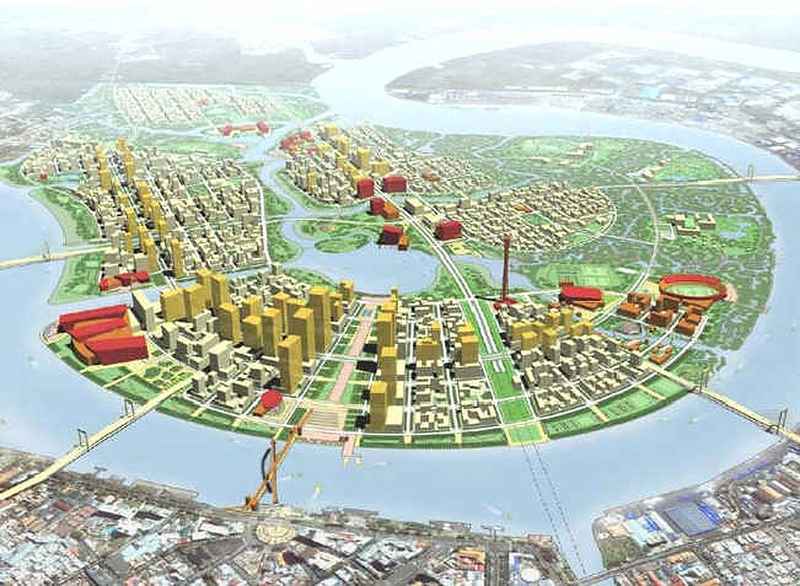 Thu Thiem New Urban Area master plan