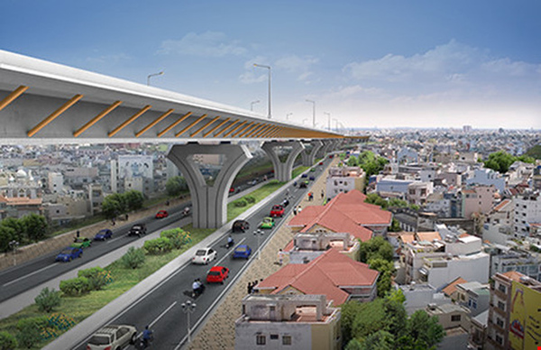 Elevated Airport Road