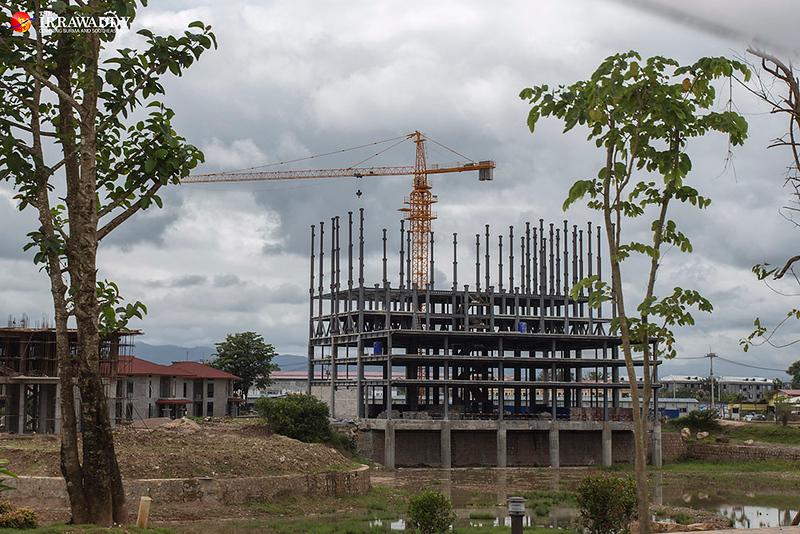 Shwe Kokko New City construction