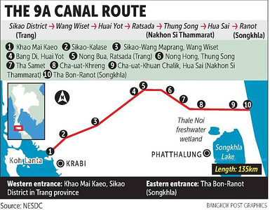9A Canal Route