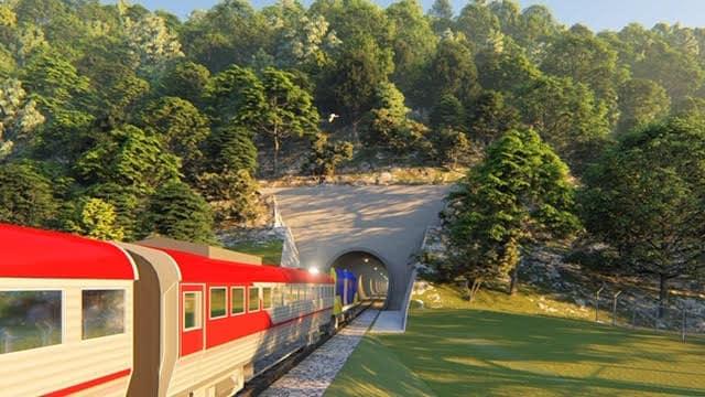 Chumphon - Ranong tunnel