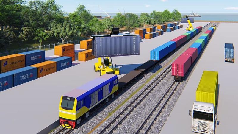 Ranang port railway