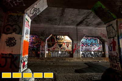 The Eastside Beltline is continuing to add infrastructure, including railings in the Krog Street Tunnel, which connects to the Wylie Street section of the path.  The Beltline is  evolving with new art installations, murals and sculptures.  (Jenni Girtman / Atlanta Event Photography)