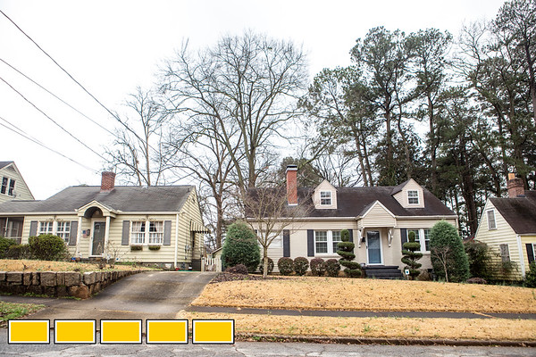 Jefferson Park is a neighborhood in East Point, as still provides homeowner's an affordable intown option.  The community has sidewalks and is a mix of eclectic homes and large lots.  (Jenni Girtman / Atlanta Event Photography)