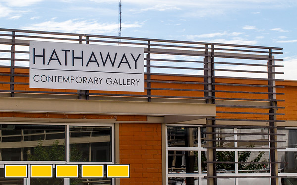 The Hathaway Gallery, a contemporary art house on Howell Mill Road is space Laura Hathaway has used to show local, regional and nationally-known artisits.  On display now is a mix of oil on canvas abstract landscapes by Amelia Carley, who lives in Atlanta and hand felted, wood, mixed media pieces by San Jose artist Ally White.  (Jenni Girtman / Atlanta Event Photography)