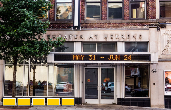 The Balzer Theater at Herren's in downtown Atlanta is located at 84 Luckie Street.   (Jenni Girtman / Atlanta Event Photography)