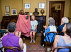 Josie Bailey tells the story of Brer Rabbit with the help of Sue McAvoy at the Wren's Nest on Ralph David Abernathy Blvd.    (Jenni Girtman / Atlanta Event Photography)