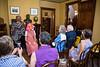 Josie Bailey tells the story of Brer Rabbit with the help of Sue McAvoy at the Wren's Nest on Ralph David Abernathy Blvd.    (Jenni Girtman / Atlanta Event Photography)