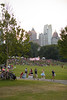 The 3rd annual Atlanta Moon Ride begins in Piedmont Park and travels through Eastside Trail Beltline communities with a 6.5 mile night bike ride.  The event benefits Bert's Big Adventure and is an all ages, all skills fun ride around the Beltline.  (Jenni Girtman/ info@atlantaeventphotography.com )
