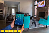 Radha Kelley is a residential builder/remodeler who's home is completely controlled from her phone and iPad.
