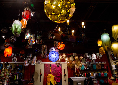 No Mas! Hacienda & Cantina in Castleberry Hill has much more than margaritas.  The store on Walker Street is filled with colorful unique lighting fixtures, sterling silver jewlery, gifts, pottery, art, one-of-a-kind items.  The hacienda is a boutique with all things authentically Mexican.  (Jenni Girtman / Atlanta Event Photography)