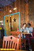 Ria's Bluebird is across the street from the Oakland Cemetery.  It was a drive through liquor store when the late Ria Pell and Alex Skalicky discovered the building and decided to turn it into Ria's dream restaurant.