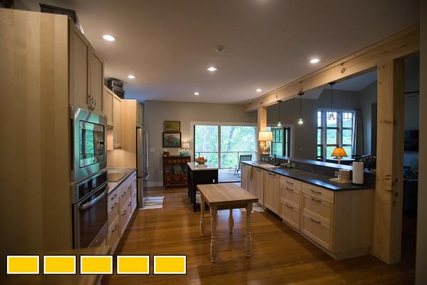 The Casselman home in Franklin, North Carolina.