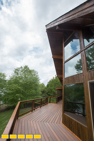 This home overlooks Lake Chatuge in Hiawassee, Georgia.