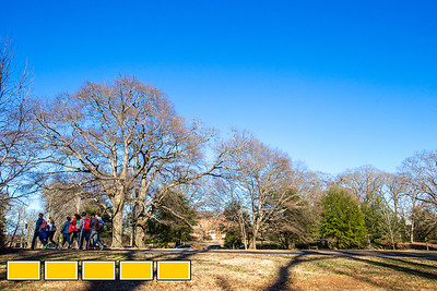 The flow of the The Olmsted Linear Park allows students to move from Shady Side Park to Oak Grove Park without disruption from heavily traveled Ponce de Leon Ave. The Olmsted Linear Park Alliance maintains the restoration and preservation of the series of linear parks designed by Frederick Law Olmstead run from Moreland Ave. to the 22 acre Deepdene Park. In the late 1800s, the parks were designed to attract wealthy prospective home owners and to blend with public trolley traffic.  (Jenni Girtman / Atlanta Event Photography)