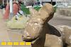 Various sculptures at Atlanta Folk Art Park.
