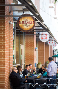 Barrelhouse is  an American Pub in Midtown and is a regular spot for Georgia Tech staff and students.  The large amount of patio space is a Midtown luxury.  The restaurant serves wings, burgers, soups and salads and is conveniently located in Tech Square at 22 5th Street.  (Jenni Girtman / Atlanta Event Photography)