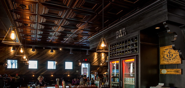 Barrelhouse, an American Pub in Midtown, is a regular spot for Georgia Tech staff and students.  The restaurant serves wings, burgers, soups and salads and is conveniently located in Tech Square at 22 5th Street.  (Jenni Girtman / Atlanta Event Photography)
