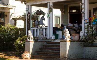 Where in Atlanta is this? Front porch of Decatur home near the intersection of E College Ave and Atlanta Ave.  (Jenni Girtman / Atlanta Event Photography)